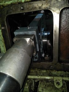 Grinding of Crankpin using Onsite Crankshaft Grinding Machine