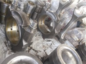 Reconditioned Connecting Rod of Allen Engine in Stock