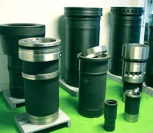 Cylinder Liners and Cylinder Sleeves of MAN Engine