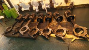 Inspection of Crankshaft is in Process